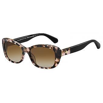 Sonnenbrille Damen  Claretta  gradient rosa/braun