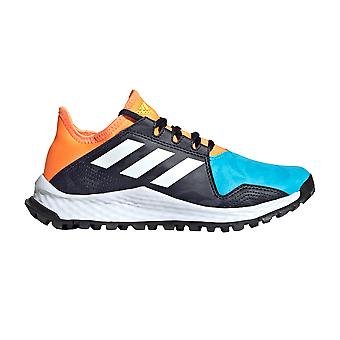 adidas Youngstar Junior Kids Field Hockey Trainer Sko blå/vit/orange
