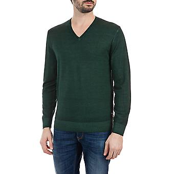 Replay Men's Wool V-Neck Sweater Regular Fit