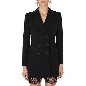 Dolce E Gabbana F26bdtfurfon0000 Frauen's Schwarz Polyester Blazer