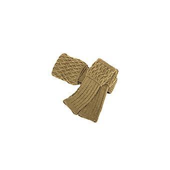 Huset cheviot damer lady rannoch sokk & håndledd varmere sett ~ mørk oliven