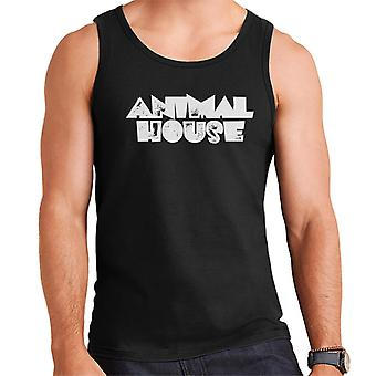 Animal House White Logo Men's Vest