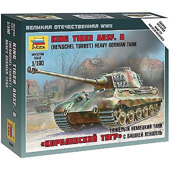 Zvezda Z6204 Sd.Kfz.182 Kung Tiger Henschel Modell Kit