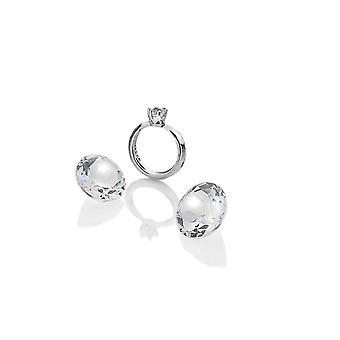 Diamantes calientes Anais Anais Anillo de plata de ley encanto AC051