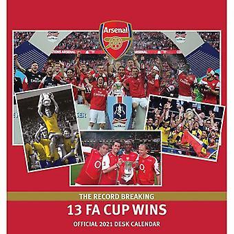 Arsenal Desktop Calendar 2021