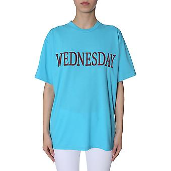 Alberta Ferretti 070301780313 Damen's hellblau Polyester T-shirt