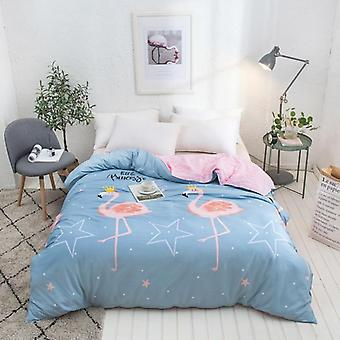 dual-sided Duvet Cover  soft Comfortable Cotton Printing Comforter -textiles Quilt Cover set 17