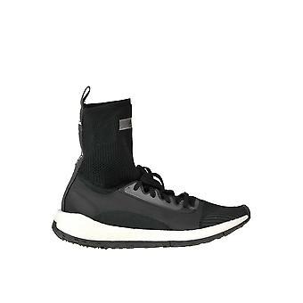 Adidas by Stella Mccartney Ezgl143001 Damen's Schwarz Synthetische Fasern Hi Top Sneakers