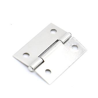 Charnières d'armoire, charnière de porte en acier inoxydable de 1,5 inche