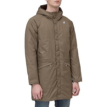 K-way - k00byb0 - men's zip fastening jacket