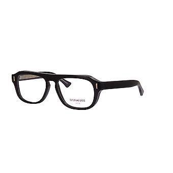 Cutler and Gross 1319 01 Black Glasses