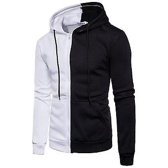 Men's Solid Sweatshirt, Long Sleeve Running Jacket