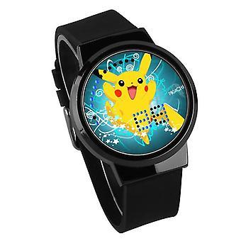 Wasserdichte Leuchten LED Digital Touch Kinder uhr - Pokemon GO #32