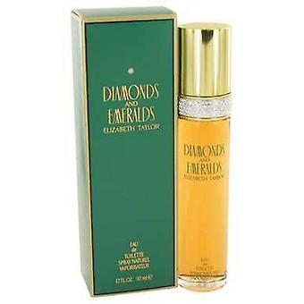 Diamonds & Emeralds por Elizabeth Taylor Eau de toilette spray 1,7 oz (mulheres) V728-403706
