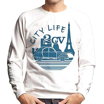 Citro?n 2CV City Life Paris For Light Men's Sweatshirt