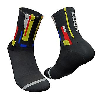 Fashion Cycling Socks, Bicycle Men & Women Professional Breathable Sports