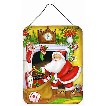 سانتا كلوز تخزين حشوات الجدار أو باب شنقا يطبع
