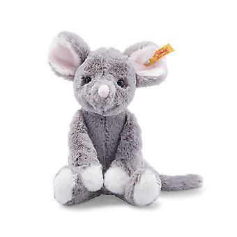 Steiff Soft Cuddly Friends Mia Mouse - Grijs