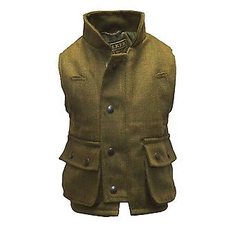 Walker ja Hawkes - Lasten Derby ammunta Tweed Gilet