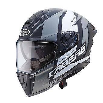 Caberg Drift Evo Speedstar Matt Black/Anthracite/White Helmet