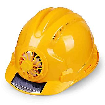 Solar Power Fan Helmet, Outdoor Working, Safety Hard Hat, Protective Cap