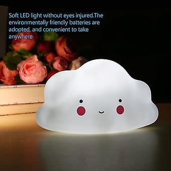 Kinderkamer lamp Cloud Face Night Light White Mini Cloud Lamp Toy For Childrens Slaapkamer Home Versier