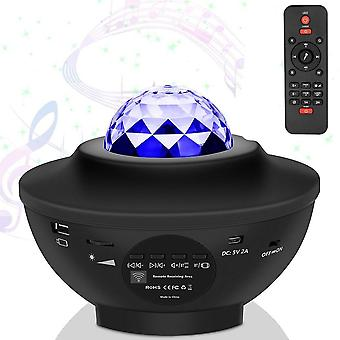 Usb Star-noapte Light Music-starry Water-wave Led Proiector