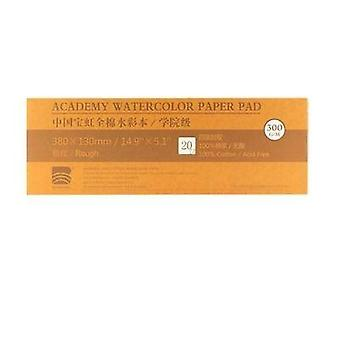 Professional Watercolor Paper, 20sheets Hand Painted Water Book