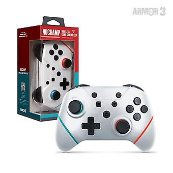 Nuchamp Wireless Game Controller für Nintendo Switch/Lite (Weiß) - Rüstung3
