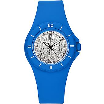 Light time watch silicon strass l122az