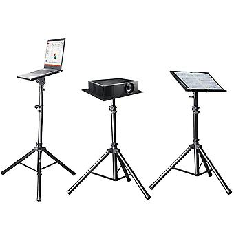 TechFlo Adjustable Notebook Laptop Projector Tripod Lectern Stand with Case