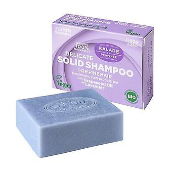 Solid Shampoo for Fine Hair 80 g