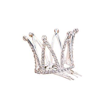Girls Crown Comb Clip