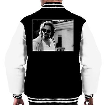 The Big Lebowski The Dude utanför hans hus Män & apos, s Varsity Jacket