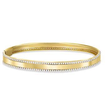Bangle Aquae 18K Gold and Diamonds
