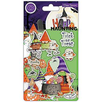 Craft Consortium Happy Haunting Clear Stamps Trick or Treat