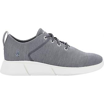 Hush Puppies Cooper Dentelle Mens Tricoté Trainers Grey