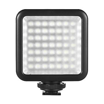 Andoer 49 led camera light, dimmable camera fill light, mini luce video per video fotografico 1pcs
