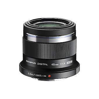 Olympus m.zuiko digital 45 mm f1.8 lens, fast fixed focal length, suitable for all mft cameras (olym