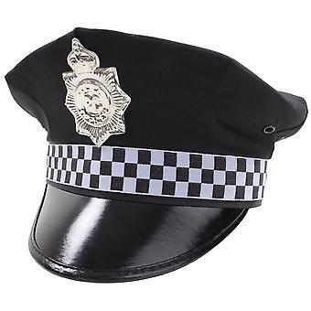Politie hoed outfit accessoire voor politie agenten fancy dress
