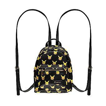 Pokemon Pikachu todo sobre impressão mochila de moda