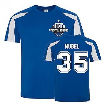 Alexander Nubel Schalke Urheiluharjoittelu Jersey (sininen)