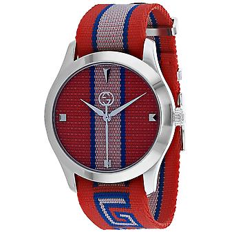 Gucci Men's Timeless Multi color Dial Watch - YA1264070