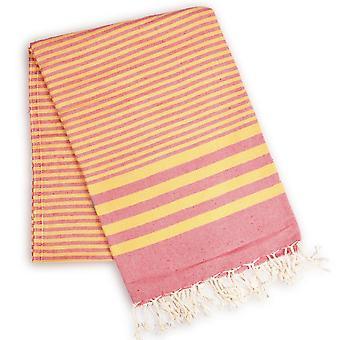Gestreiftes Handtuch