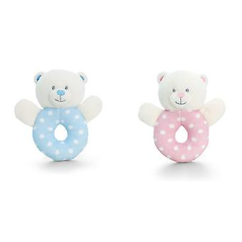 Keel Toys Baby Bear Ring Rattle