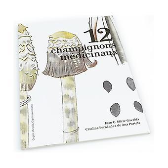 12 medicinal mushrooms 1 unit
