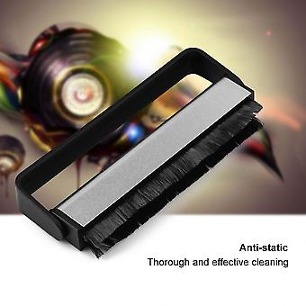 Carbon Fiber Phonograph Audio Handle Soft Cleaner Record Brush