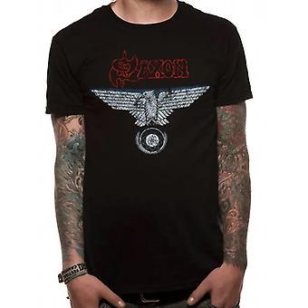 Saxon Unisex Adult Vintage T-Shirt