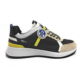 North Sails Sneakers Mod. Wave 018 Lime Grey Us20ns06