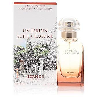 Un Jardin Sur La Lagune Eau De Toilette Spray By Hermes 1.6 oz Eau De Toilette Spray